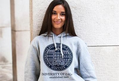 Popular Zagreb University Hoodies Now Available Internationally on eBay