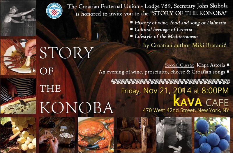 New York Premiere for Miki Bratanić's 'Story of the Konoba'
