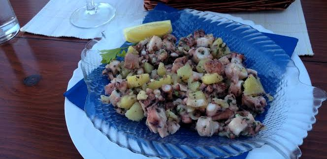 Croatian Cooking: Octopus Salad Recipe