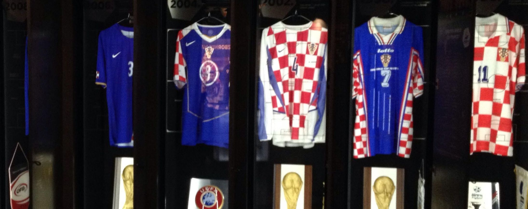 [PHOTOS] Photo Tour of the Croatian Football 'Museum'