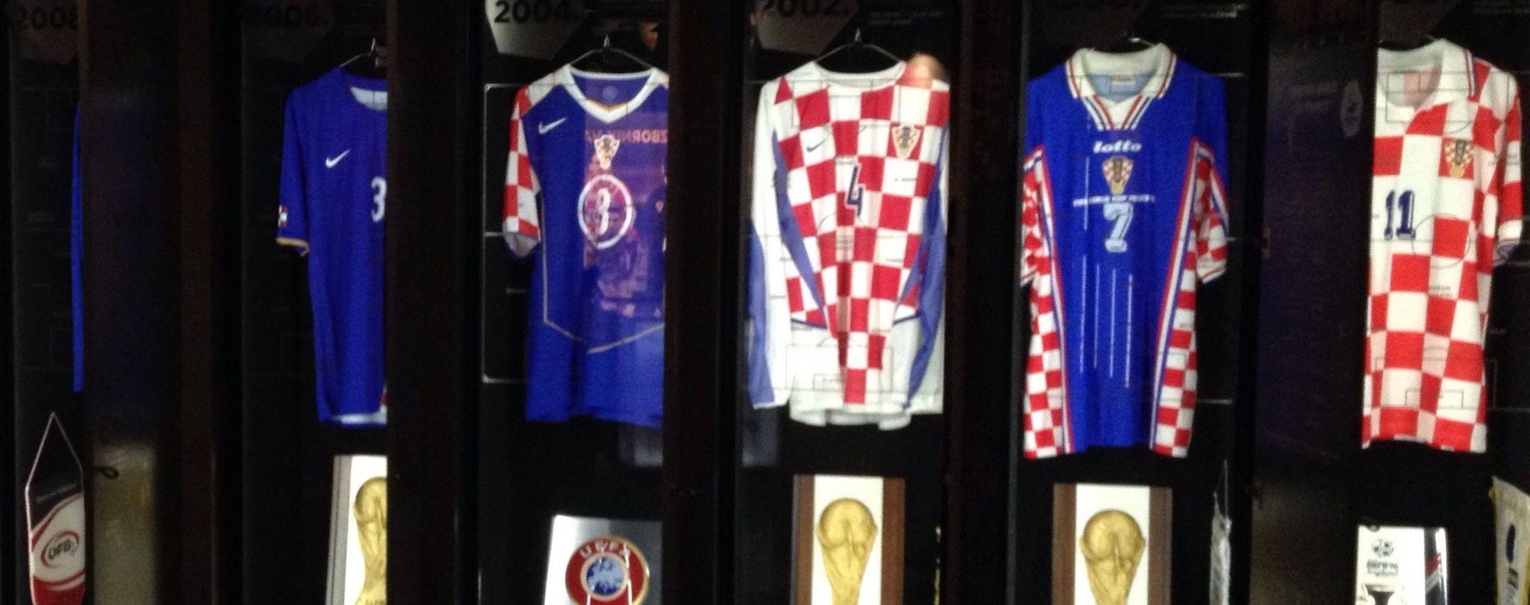 [PHOTOS] Photo Tour of the Croatian Football 'Museum'