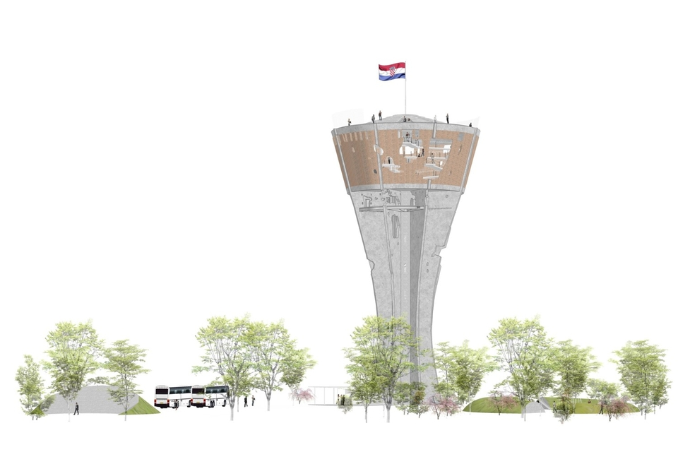 Vukovar water tower project