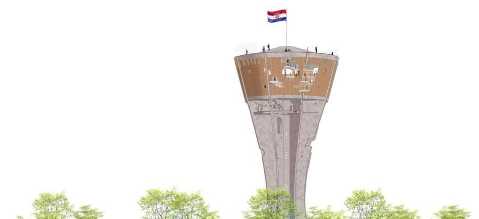 [PHOTOS] Check out Plans for the Symbol of Vukovar – The Water Tower