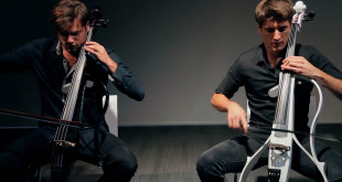 2Cellos (photo/mashable)