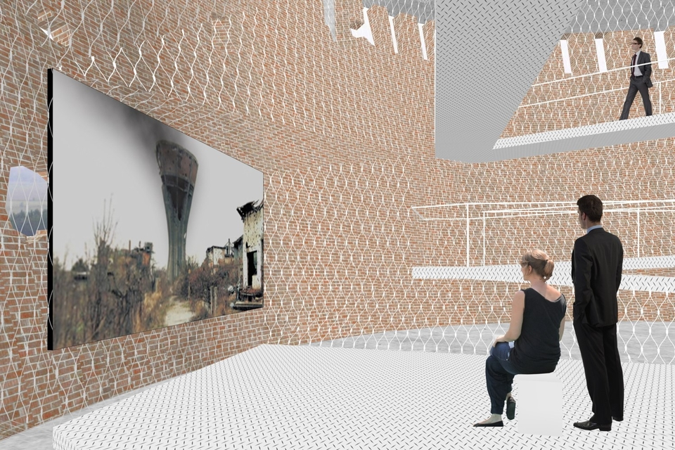 A memorial room will be in the tower