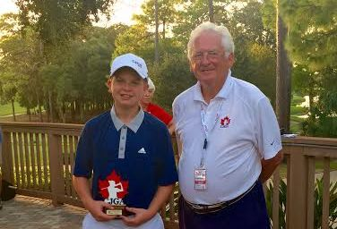 12-Year-Old Canadian Croatian Becomes 3-Time CJGA World Junior Challenge Champion