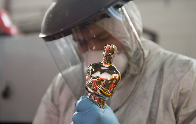 This Year's Famous Oscar Statuettes 'Croatian' Made