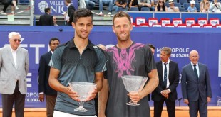 Mate Pavić and Michael Venus (archive photo:opennicecotedazur)