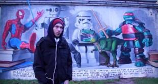 Croatian street artist Lonac (scrreenshot)