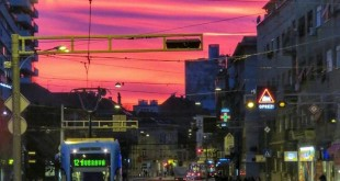 Zagreb sunset (photo: Sandra Tralić‎)