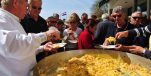 Thousands of Eggs Scrambled for Traditional Free Easter Monday Breakfast in Šibenik