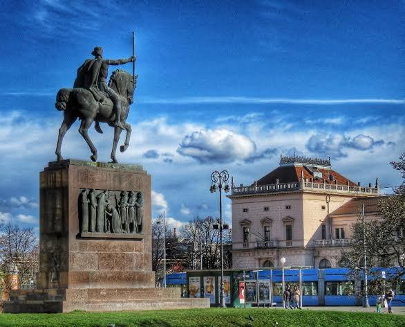 King Tomislav square (Sandra Tralić)