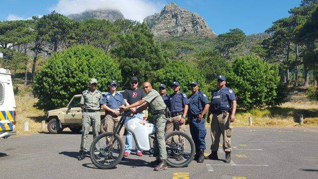 Catching criminals made easier with the electric bikes
