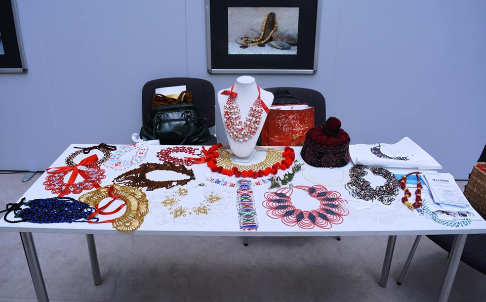 Traditional Croatian jewellery on display