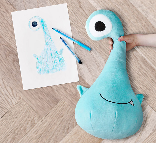 Karla#s winning design was made into a soft toy