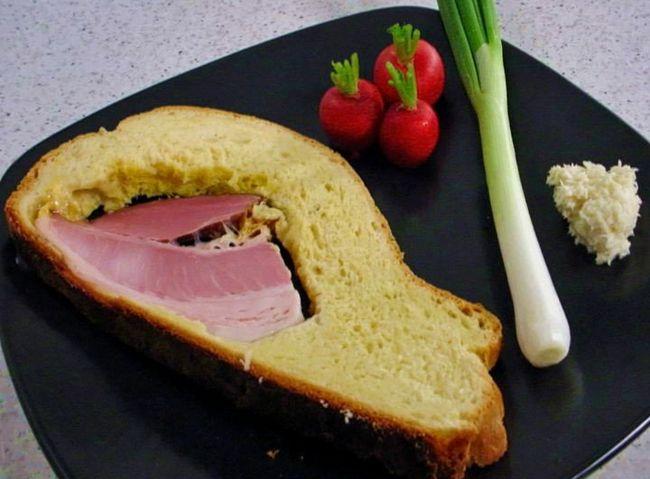 [VIDEO] Croatian Recipes – Šunka u Kruhu (Ham in Bread)