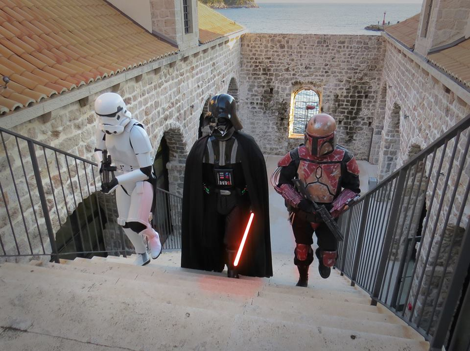 All ready in Dubrovnik (photo credit: Star Wars Hrvatska)
