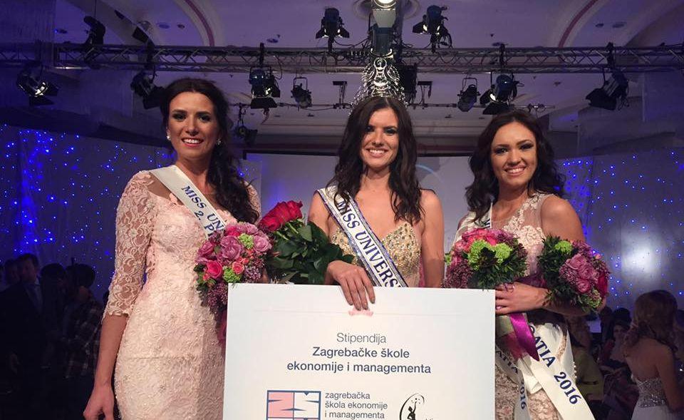 Barbara Filipović (18) Crowned Miss Universe Croatia 2016
