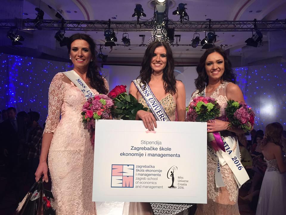 Barbara Filipović winner of Miss Universe Croatia (photo: press)