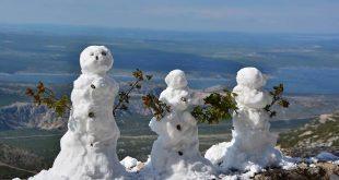 Snow in April (photo credit: Silvio Marcus Milanko / Facebook Crometeo)