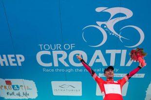 Tour of Croatia winner Matija Kvasina (photo: Tour of Croatia)