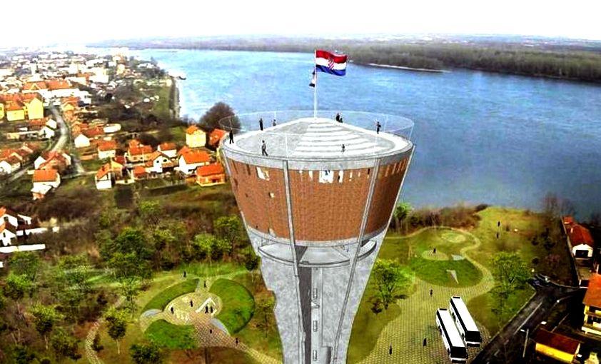 How Vukovar water tower will look (photo: vukovar city)