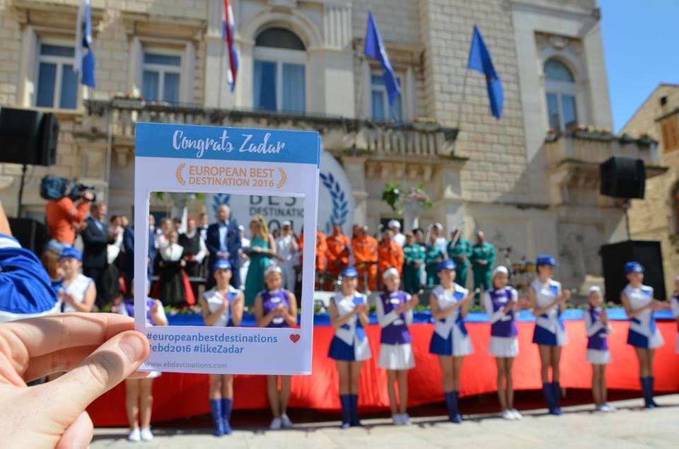 Zadar presented with title of Best European Destination (photo credit: European Best Destinations)