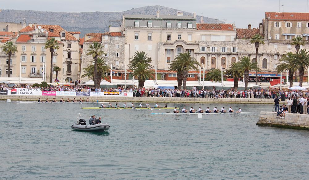 Split Rowing Team Beat Oxford & Cambridge to Win International Cup