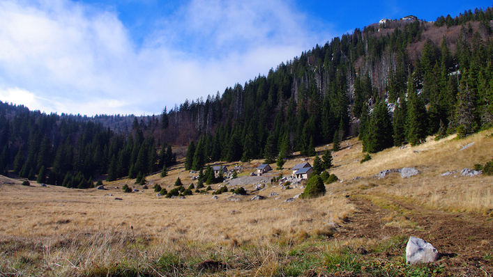 Ruined Shepherd's Houses on Velebit Mountain Renovated for Tourists