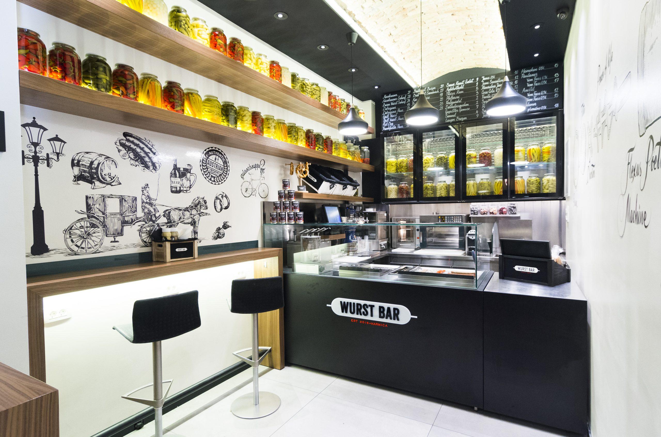 First original wurst bar opens in zagreb croatia week for Food bar zagreb