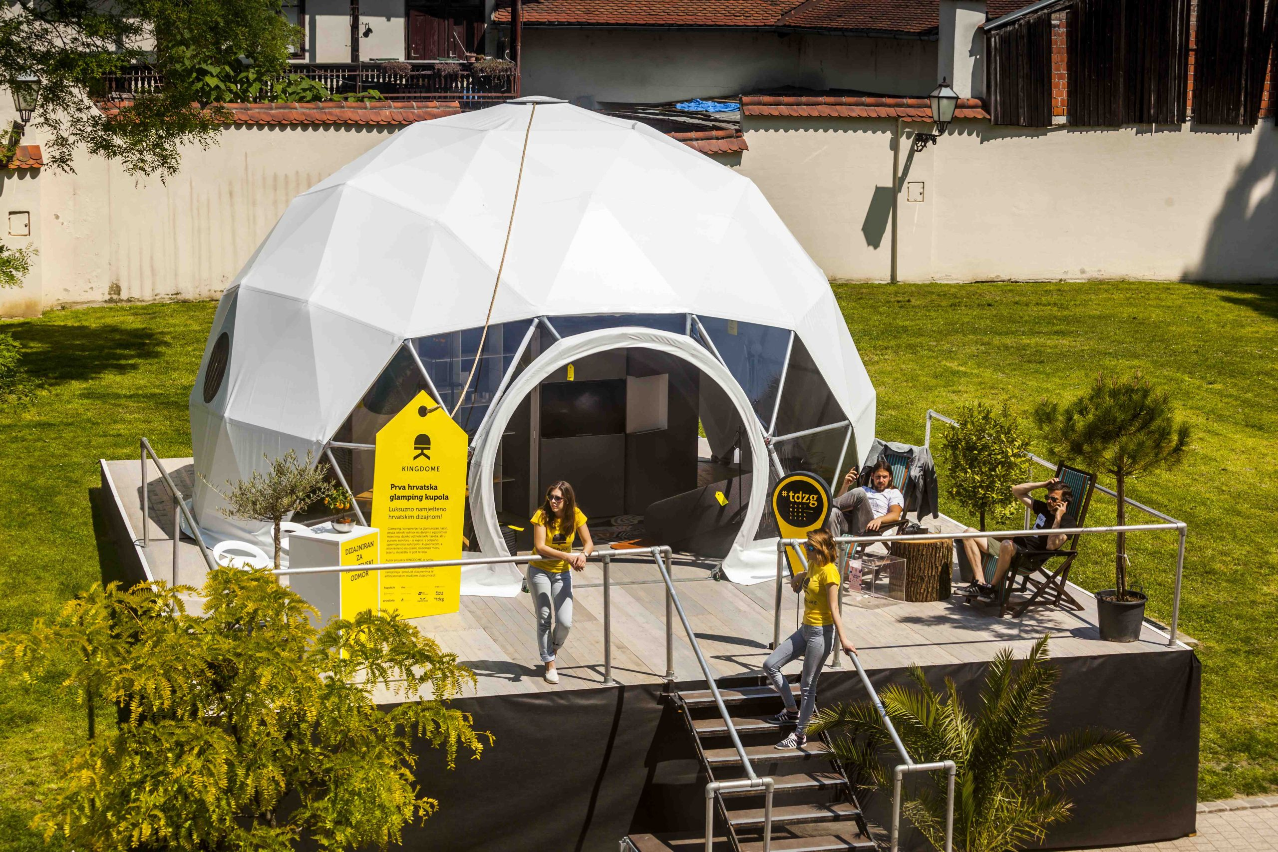 [PHOTOS] A Look Inside the First Croatian Glamping Dome