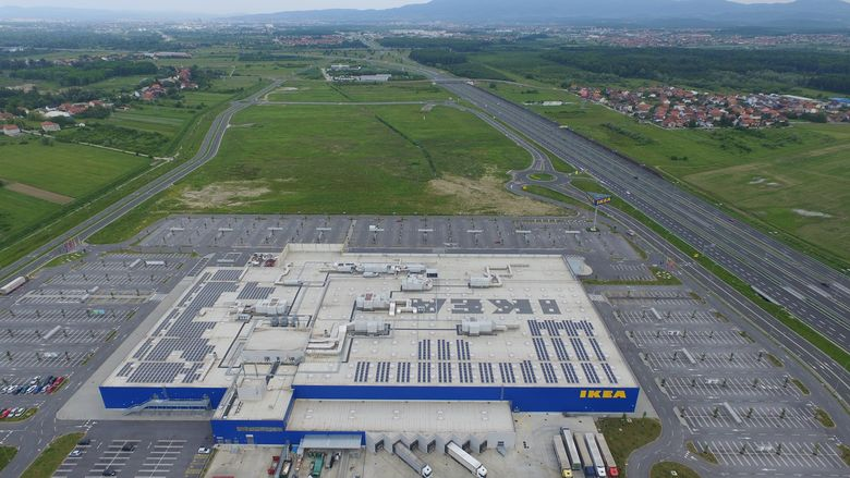 Location will be next to the current IKEA store in Zagreb (photo: IKEA)