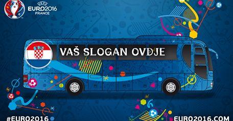Winning Slogan for Croatia's EURO 2016 Bus Found