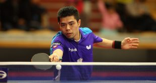 Chuang Chih Yuan in Zagreb (photo credit: ITTF)