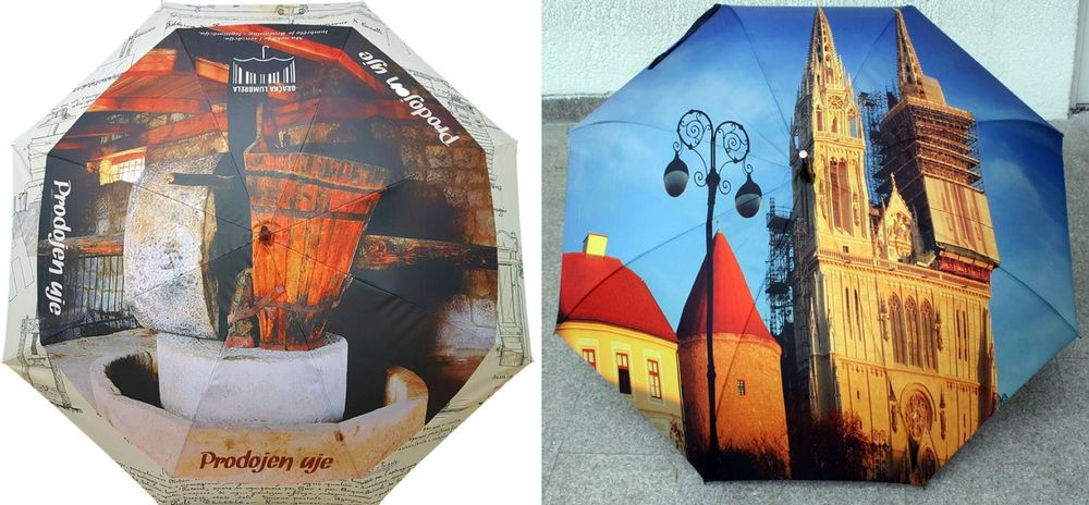 Now you can get your own personalised Croatian umbrella