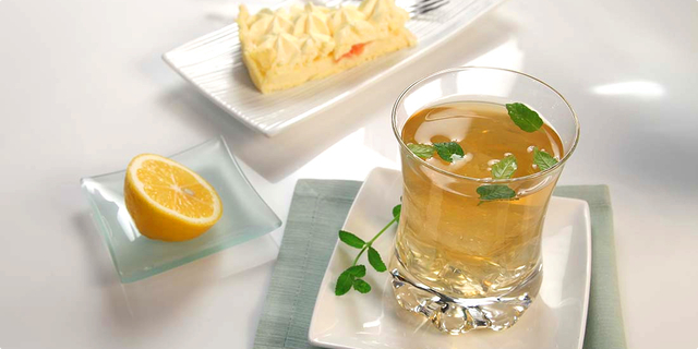 Lemon & Lime tea wins Crystal Taste Award (photo credit: Podravka)