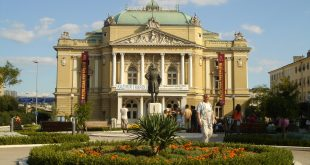 Croatian National Theatre in Rijeka