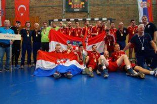 Winning Croatia team