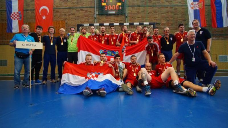 Croatia Crowned European Deaf Handball Champions