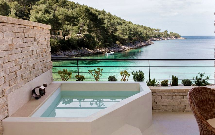 photos charming new secluded boutique hotel opens on hvar croatia week. Black Bedroom Furniture Sets. Home Design Ideas