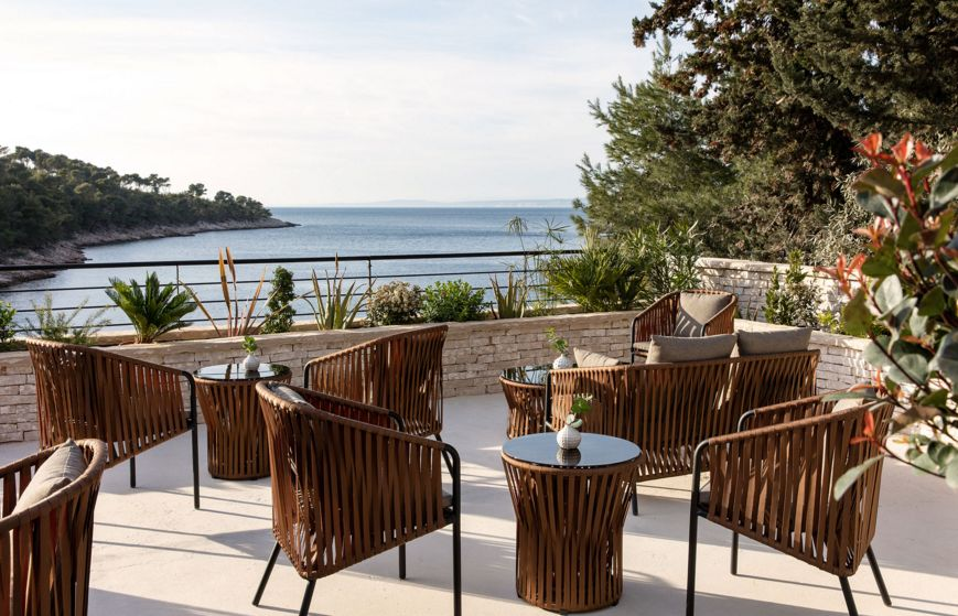 Photos charming new secluded boutique hotel opens on for Boutique hotel intermezzo 4 pag croatie