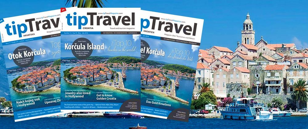Korčula Island Focus in Latest Issue of tipTravel Magazine