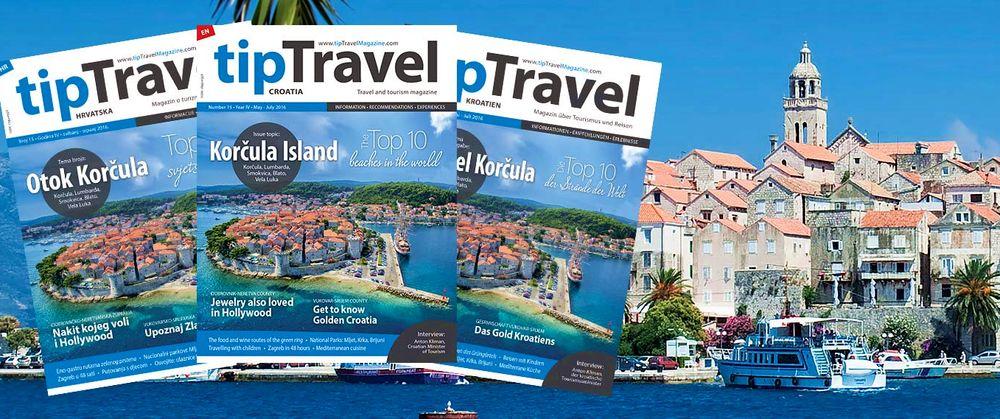 Korčula Island Focus in Latest Issue of tipTravel Magazine