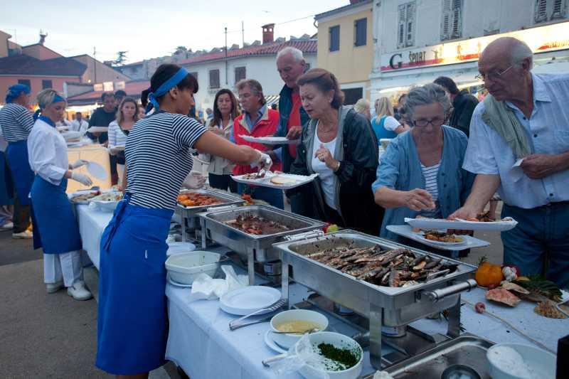 Novigrad to celebrate the pilchard in May (photo credit: coloursofistria)