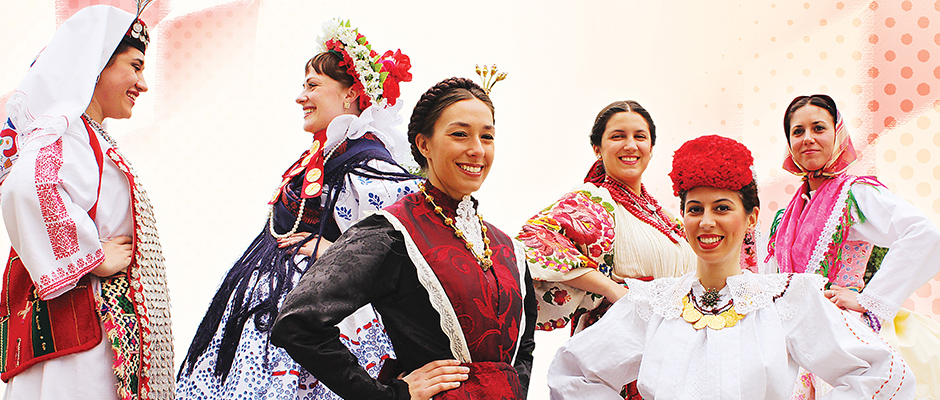 Voting Open for Miss Croatia Abroad in National Folk Costume