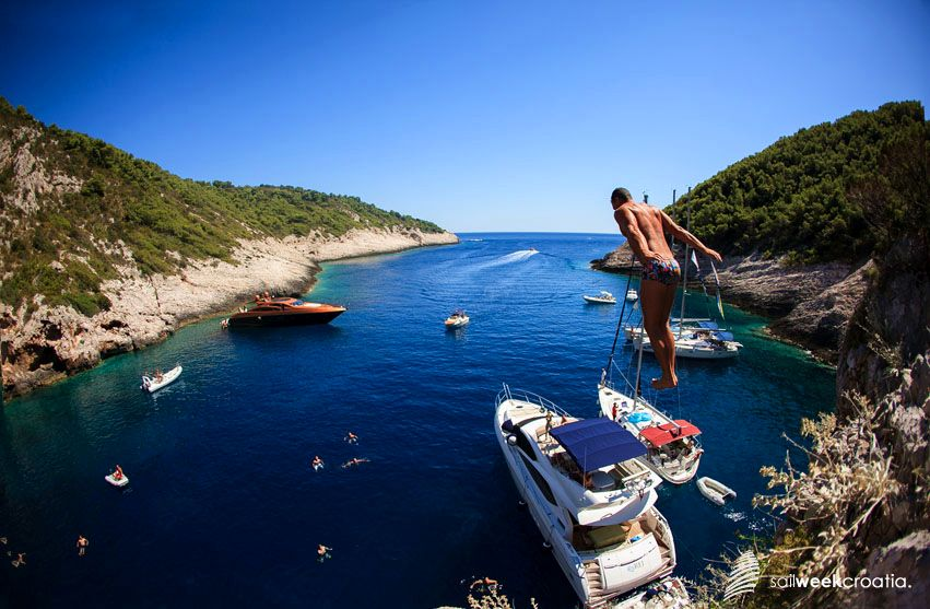 Croatia's swimming water among cleanest in Europe (photo: SailWeekCroatia)