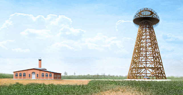 Tesla's tower (photo credit: fanpop)