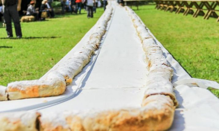 Central Croatia Enters Guinness Records as Home to World's Longest Strudel
