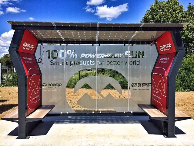 Solar Bus Stop (photo: Energomobil)