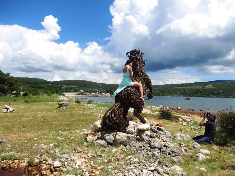 Sculpture Park on Krk (photo: Facebook Arteco)